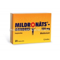 Meldonium  MILDRONATE® 250mg 20 capsules