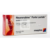 Neurorubine Forte Lactab tabletes N20