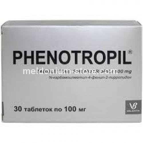 Phenotropil 100mg/30 pills
