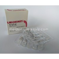 Meldonium  MILDRONATE® 500mg/5ml ampules/injections