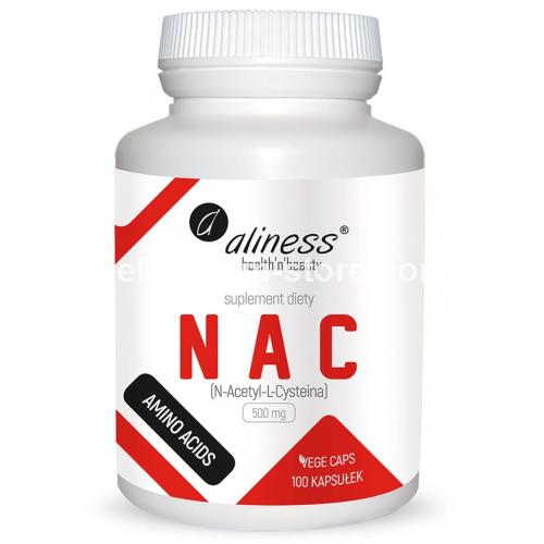 NAC N-Acetyl-L-Cysteine 500 mg N100